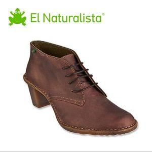 El Naturalista Duna Lace Up Brown Boots